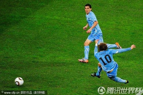 2010世界杯3、4名决赛:德国Vs乌拉圭