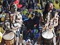 高清:开幕式演绎非洲激情