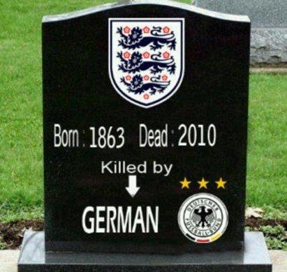 英格兰出局伤透球迷心 建墓碑为球队致哀(图)