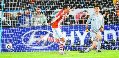 济南时报:巴西轻松晋级 巴拉圭队首进八强