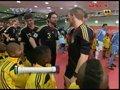 视频:乌拉圭VS德国 双方球员通道中准备入场