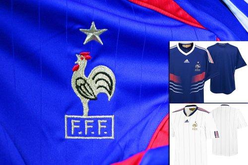 法国国家队球衣——向历史致敬