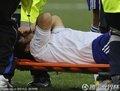 日本队员受伤