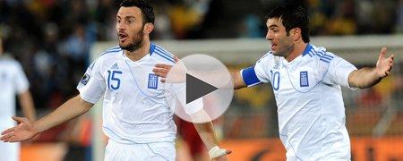 希腊0-2阿根廷 上半场