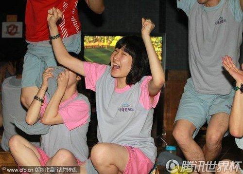 2010世界杯B组次轮:韩国Vs阿根廷 首尔球迷倾城出动