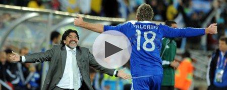 希腊0-2阿根廷 下半场