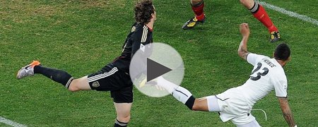加纳0-1德国 上半场