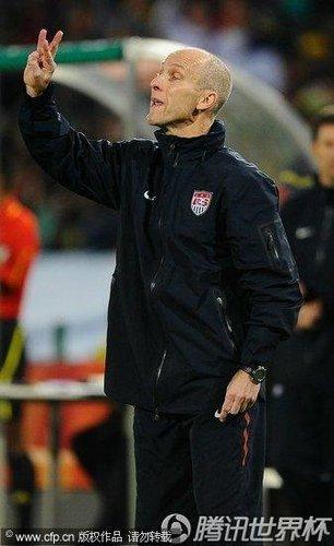 美国主帅称不在乎误判 暗示淘汰赛不怕碰德国