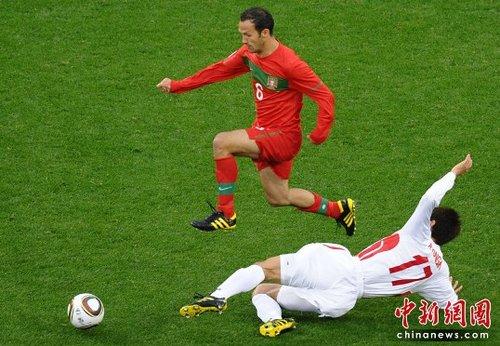 葡萄牙中场梅雷莱斯:对朝鲜第一球最关键!