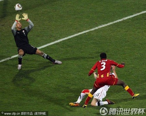 2010世界杯:美国vs加纳