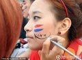 图文:阿根廷4-1韩国 首尔球迷倾城出动(319)