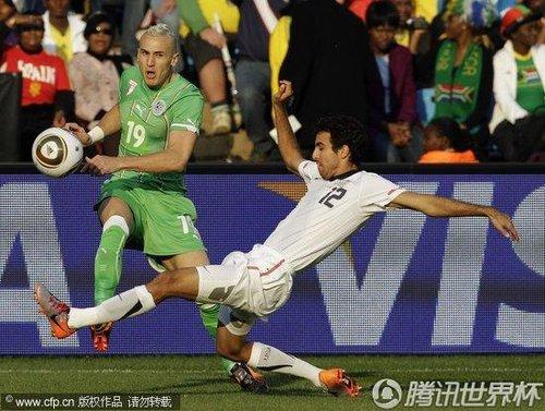 2010世界杯小组赛C组末轮:美国Vs阿尔及利亚