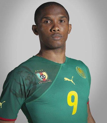 喀麦隆国家队球衣——展现野性
