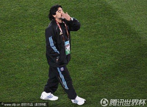 2010世界杯小组赛B组末轮:阿根廷Vs希腊
