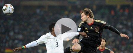 加纳0-1德国 下半场