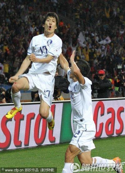 2010世界杯1/8决赛:乌拉圭Vs韩国