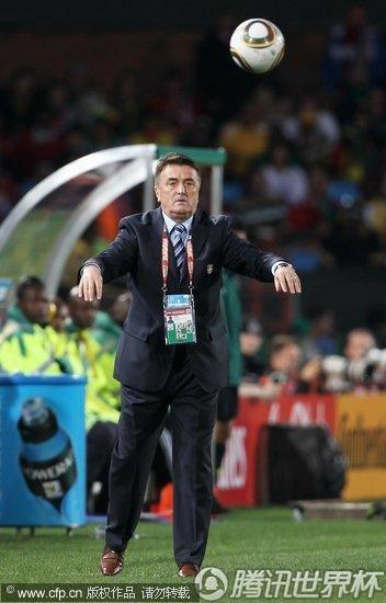 2010世界杯D组首轮:塞尔维亚Vs加纳