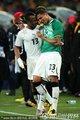 加纳队球员庆祝出线