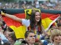 高清:德国美女球迷惊艳
