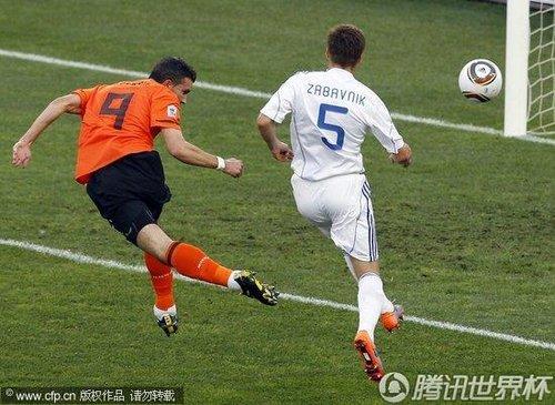 2010世界杯:荷兰vs斯洛伐克