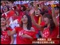 视频:小组赛韩国激战希腊 亚洲美女助阵加油