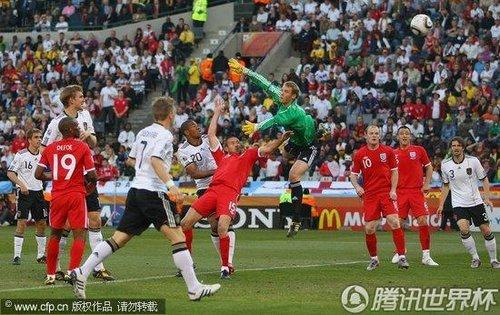 2010世界杯1/8决赛:德国Vs英格兰