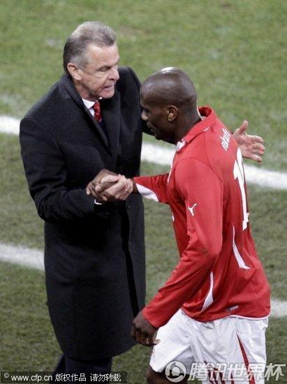 2010世界杯:瑞士vs洪都拉斯