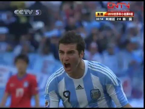 视频:伊瓜因帽子戏法回放 阿根廷信他不后悔