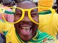 高清:南非球迷街头释放热情