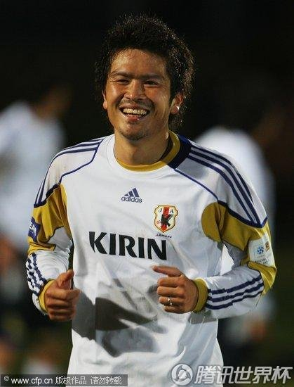 2010世界杯E组前瞻:日本继续训练备战