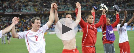 西班牙0-1瑞士 下半场