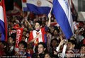图文:巴拉圭载誉回国 虽败犹荣总统接见(7)