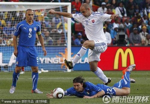 2010世界杯:斯洛伐克vs意大利