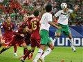 06世界杯进球FLASH:丰塞卡头球破门