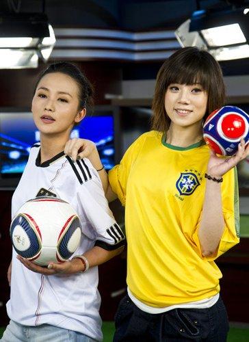 实录:才女做客时尚世界杯 侃丑球星与靓老婆