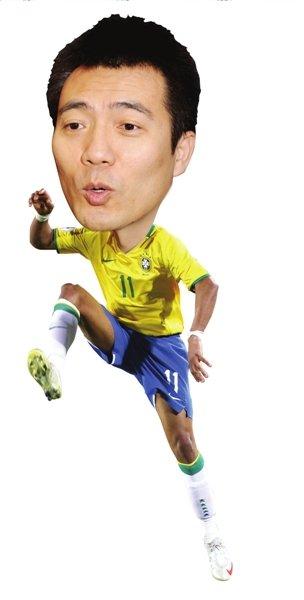 黄健翔:邓加需证明巴西要功利 四强将出黑马