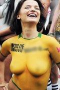 澳大利亚女球迷
