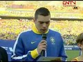 视频:巴西vs荷兰 两队长发表反种族歧视宣言