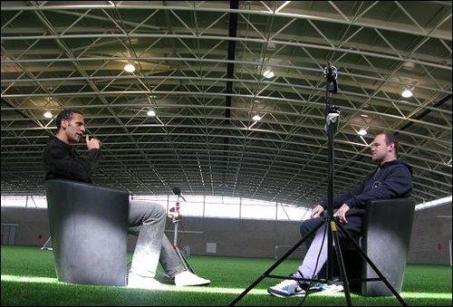 鲁尼接受费迪南德采访 大赞梅西挺英格兰夺冠