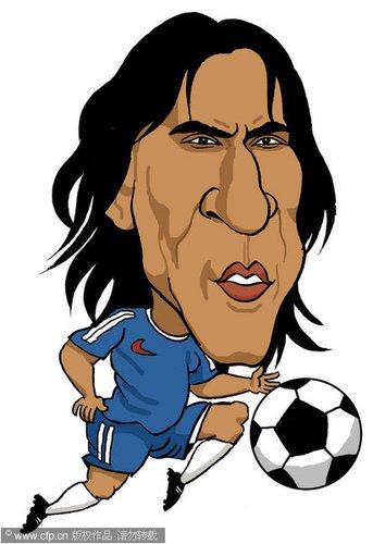 漫画:世界杯球星脸谱 皮尔洛_世界杯图片