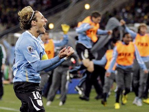 弗兰在乌拉圭奇迹就在 天外飞仙让全非洲颤抖