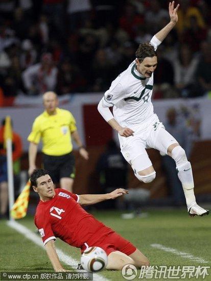 2010世界杯小组赛C组末轮:英格兰1-0斯洛文尼亚