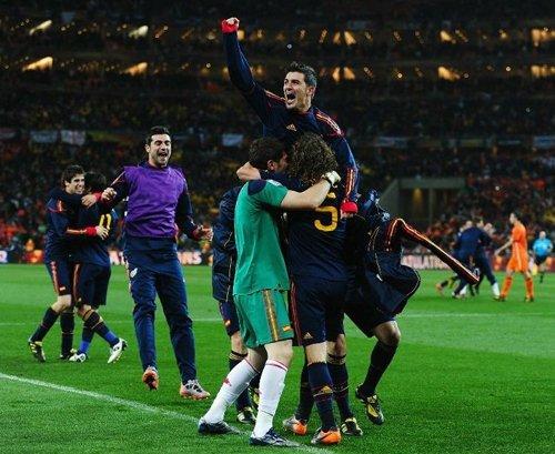 西班牙成世界杯第八个冠军 斗牛士建王朝时代