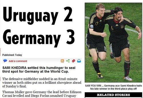 太阳报:年轻德国季军也光荣 未来是他们的