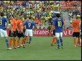 视频:麦孔主罚任意球 荷兰队门前风声鹤唳