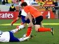 视频:荷兰队领先不放松 马泰森推人如格斗