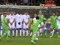 视频:阿尔及利亚发前场任意球 远射未出奇迹