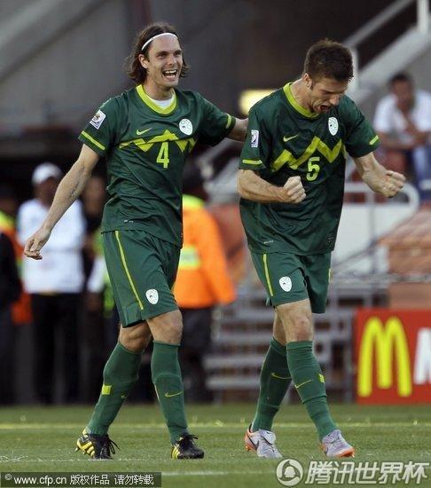 2010世界杯小组赛:阿尔及利亚vs斯洛文尼亚