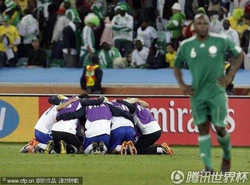 2010世界杯B组末轮:尼日利亚2-2韩国