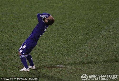 2010世界杯1/8决赛:120分钟0-0战平 点球巴拉圭5-3日本